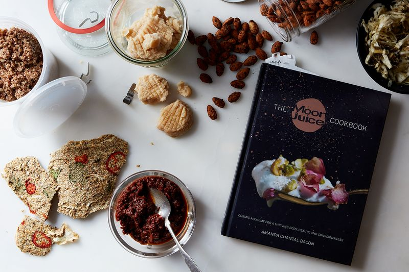 "My Cosmic Journey Through the Moon Juice Cookbook (Stinky Brown ""Food"" and All)"