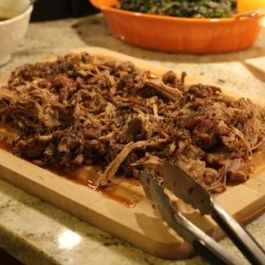 Pasilla and Beer Braised Pork Shoulder