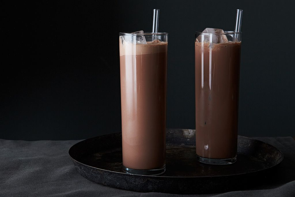 How to make the best homemade hot and cold chocolate genius recipes greenspan even uses the cold chocolate to make ice cream floats you could use vanilla or coffee or cinnamon but her favorite is cherry garcia ccuart Images