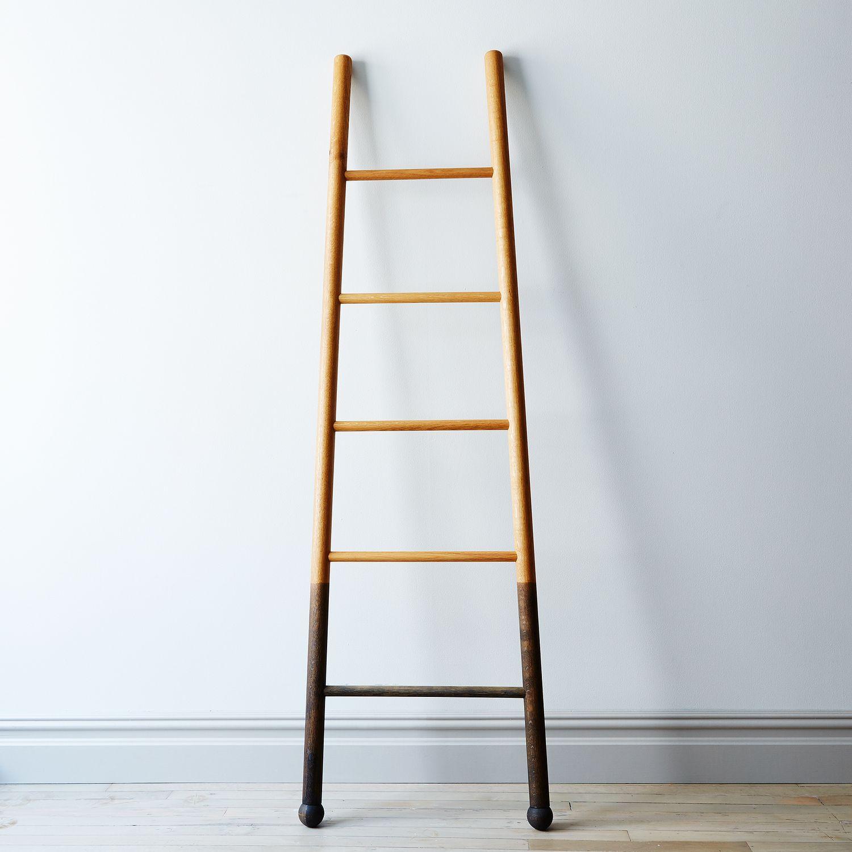 Solid Oak Oxidized Decor Ladder on Food52