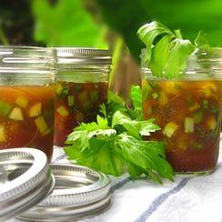 Garden Salad in Spicy Tomato Aspic
