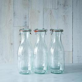 Weck Juice Jar 1 Litre (Set of 6)