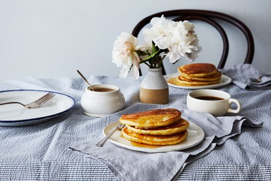 "Gravity-Defying ""Basic"" Buttermilk Pancakes"