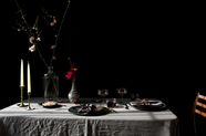 Hey Lovebirds: Set Your Table Like This