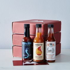 Small-Batch Quarterly Hot Sauce Subscription