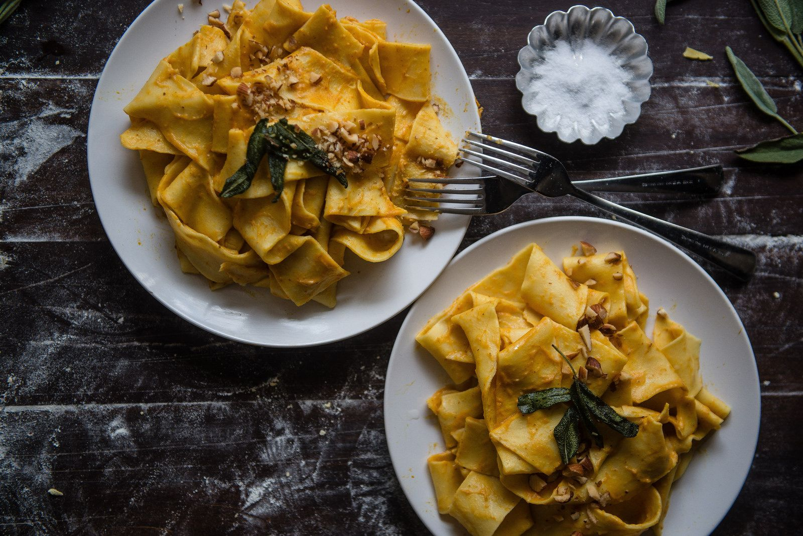 Kabocha Pappardelle