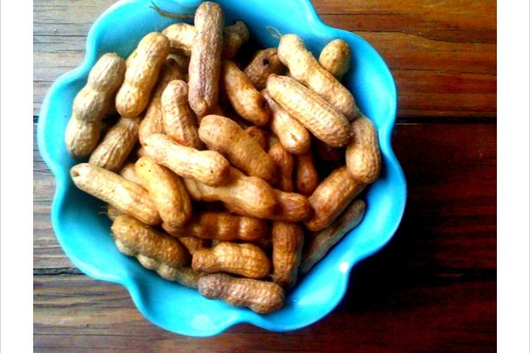 Maryland Style Boiled Peanuts