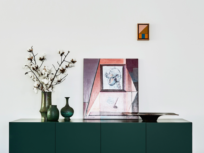 5 Ways a Small Piece of Art Can Work Magic on a Big Blank Wall