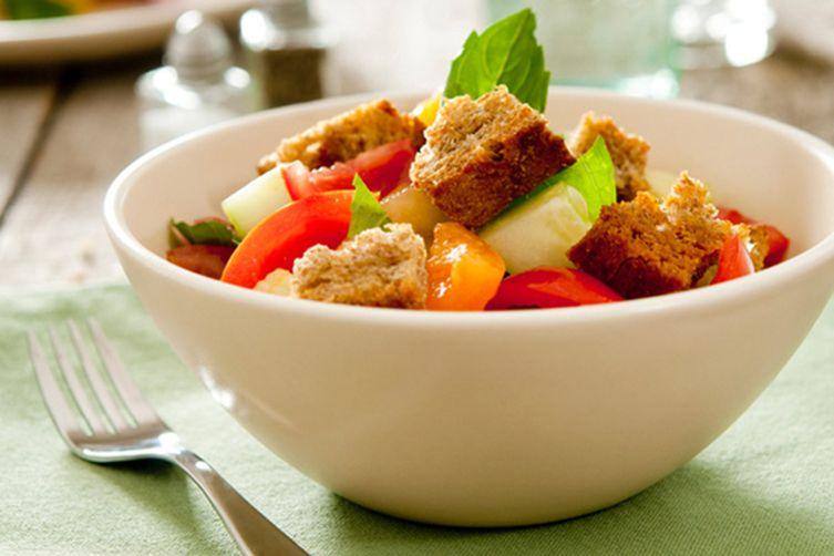 Grilled Chicken Bread Salad