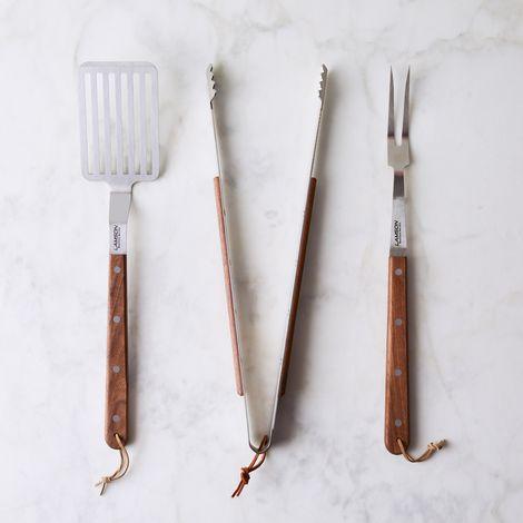 Premium 3-Piece Barbecue Tool Set