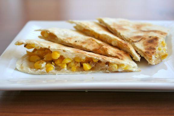 Roast Corn Quesadilla