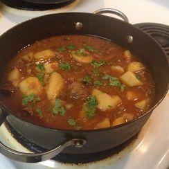 Aloo Gosht (Pakistani Beef and Potato Stew)