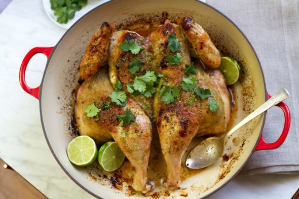 Roasted Cilantro Lime Chicken