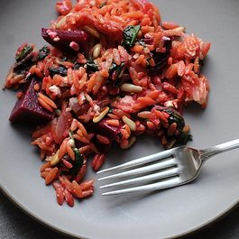Veggies with Pasta by Amanda Fanniff