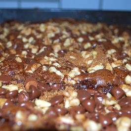 Mexican Chocolate Snack Cake