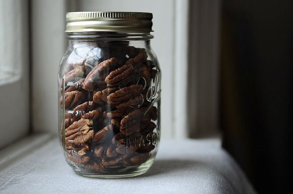 Crispy Spice-Brined Pecans from Food52