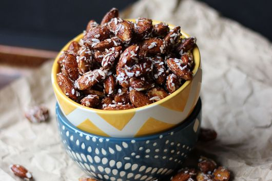 Honey Roasted Cinnamon Almonds