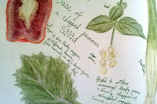 Hands-On Superlative Summer Salad Starter