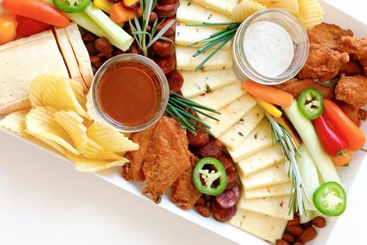 Guess What? Your Fave Super Bowl Snacks Belong on a Cheese Plate
