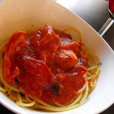 Chicken Spaghetti Cacciatore Bolognese
