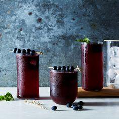 Blueberry-Lime Agua Fresca