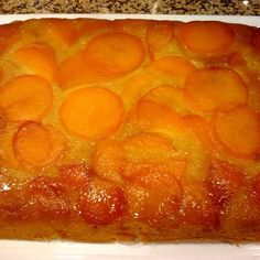 Apricot Upside Down Cake