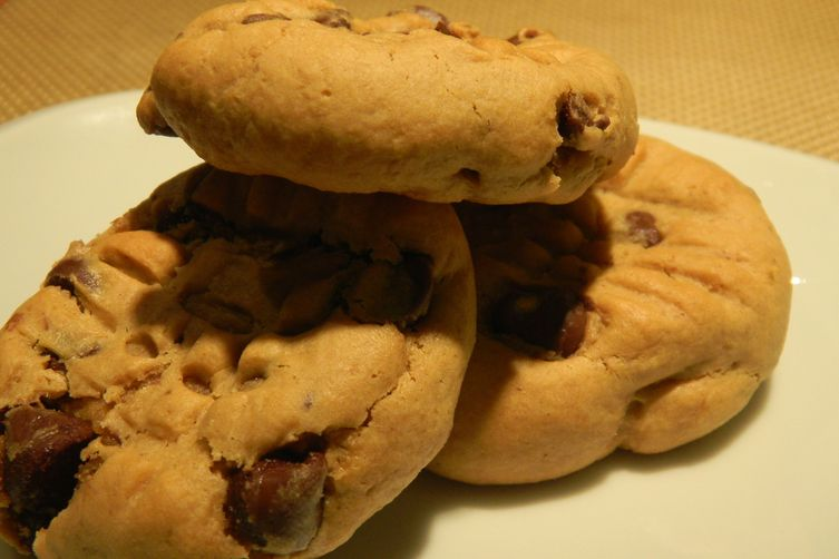 Peanut Chocolate Chip Cookies