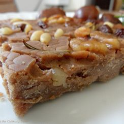 Castagnaccio (Italian Chestnut Cake)