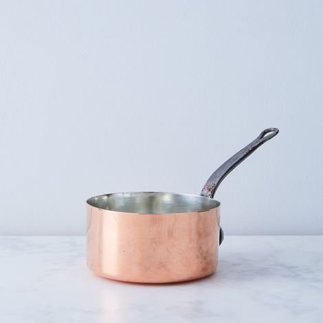 "Vintage Copper ""Gaillard Paris"" Saucepan, Late 19th Century"