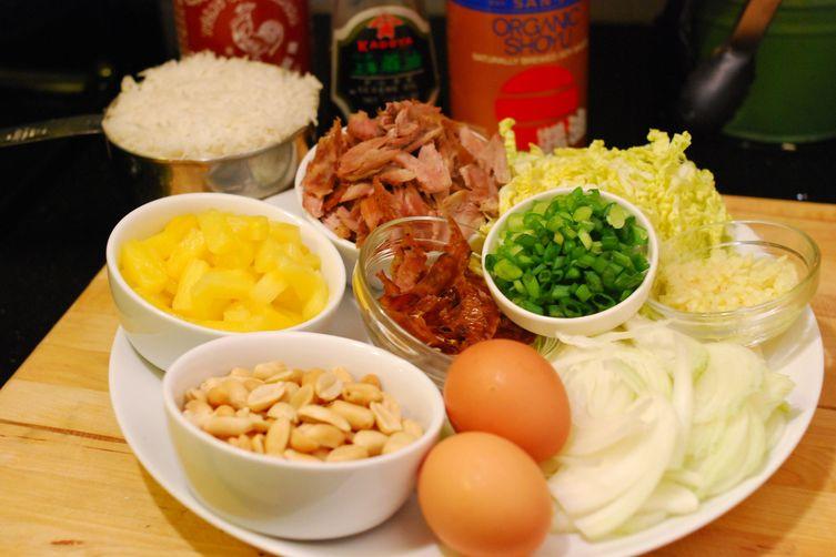 Turkey Pineapple Fried Rice