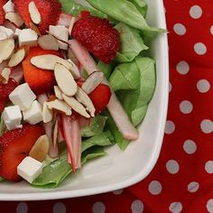 Strawberry & Pickled Radish Salad