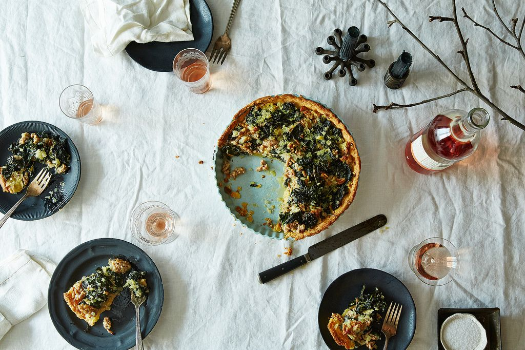 Unglazed Tart Plate