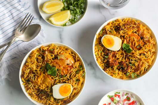 Chicken Biryani for the Instant Pot