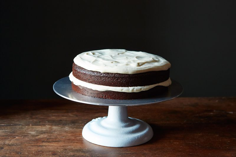 Faith Durand's Dark Molasses Gingerbread Cake