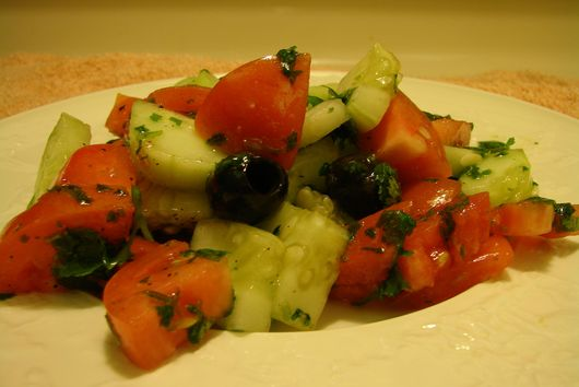 Quick Cilantro Salad