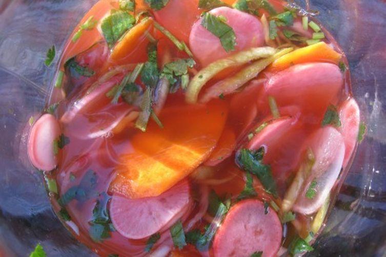 Pickled Spring Vegetables Recipe on Food52