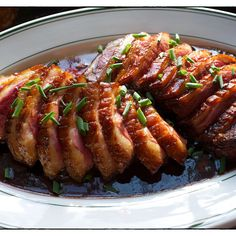 Teriyaki Duck Breast