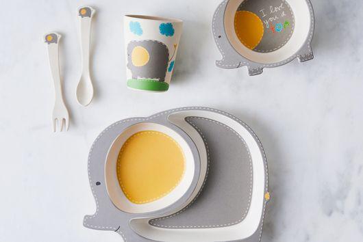 Playful Bamboo Kids' Dinnerware Set + Bonus Kids' Face Mask (Limited Time)