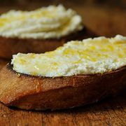 Fc941faa f9b9 48d9 be88 bb058370e912  bruschetta with ricotta honey and lemon zest