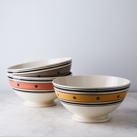 Hand-Painted Serving Bowls
