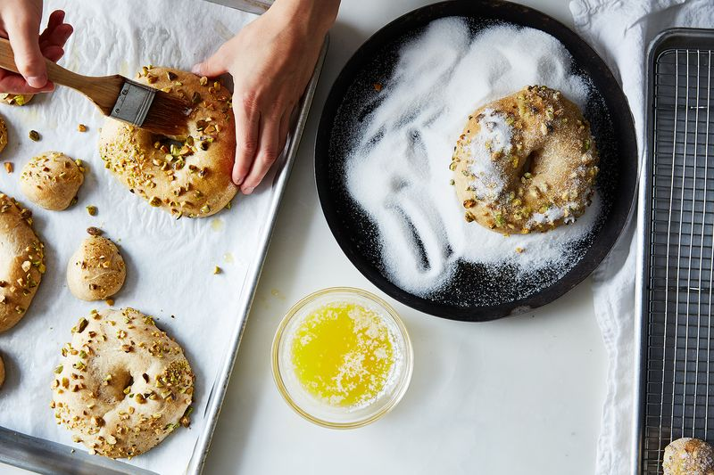 What better way to brush butter over a doughnut than with a pastry brush?