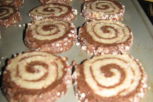Chocolate Peppermint Swirls