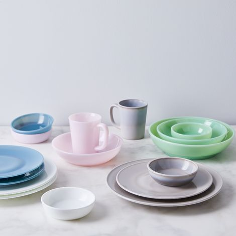 Tinted Glass Dinnerware