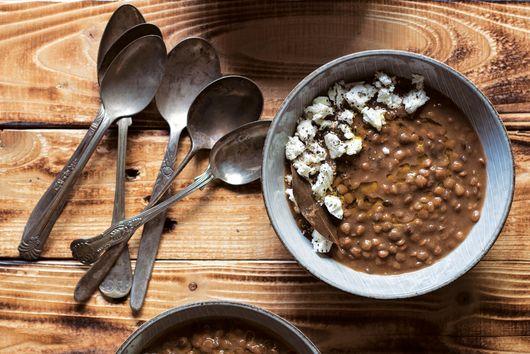 Slow-Cooker Greek Lentil Soup From Eleni Vonissakou