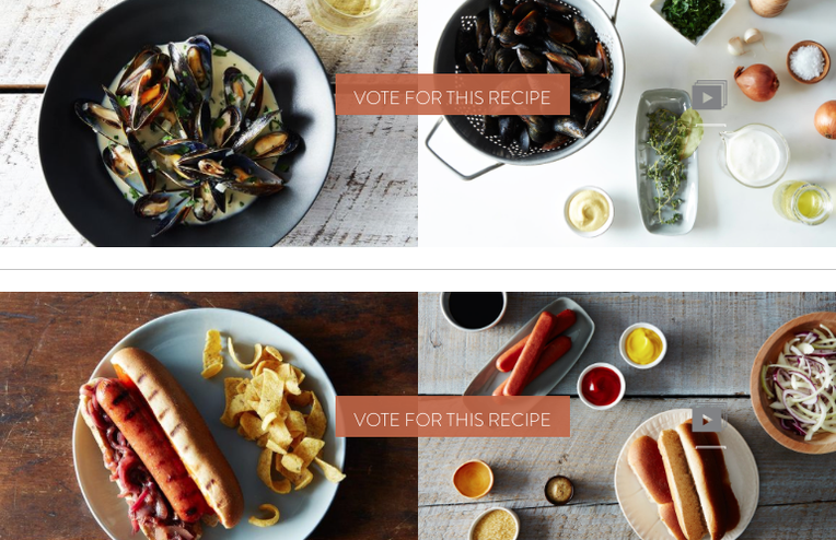 Finalists: Your Best Recipe with Mustard