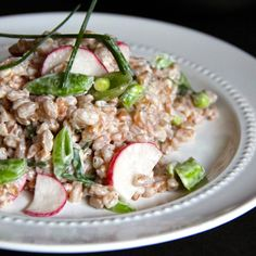 Creamy Summer Farro Salad