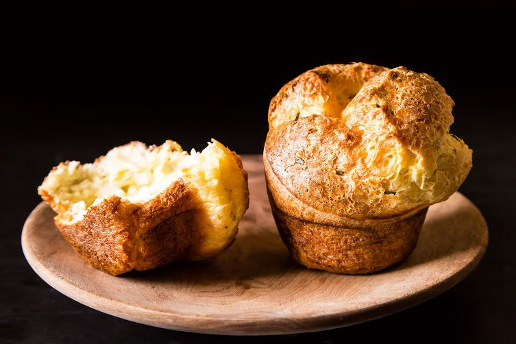 Black Pepper Popovers