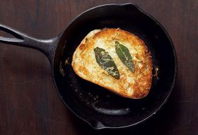 Grilled Cheese + Buttery Braised Leeks
