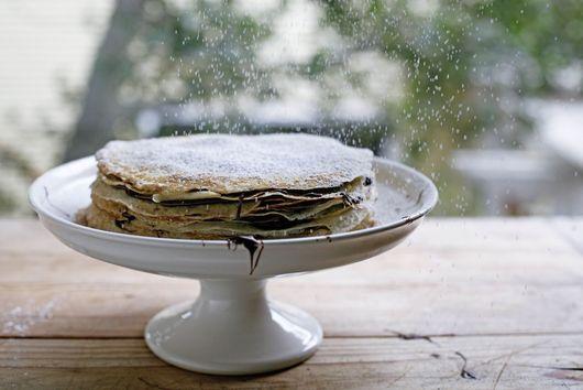 Nutella Crêpe Cake