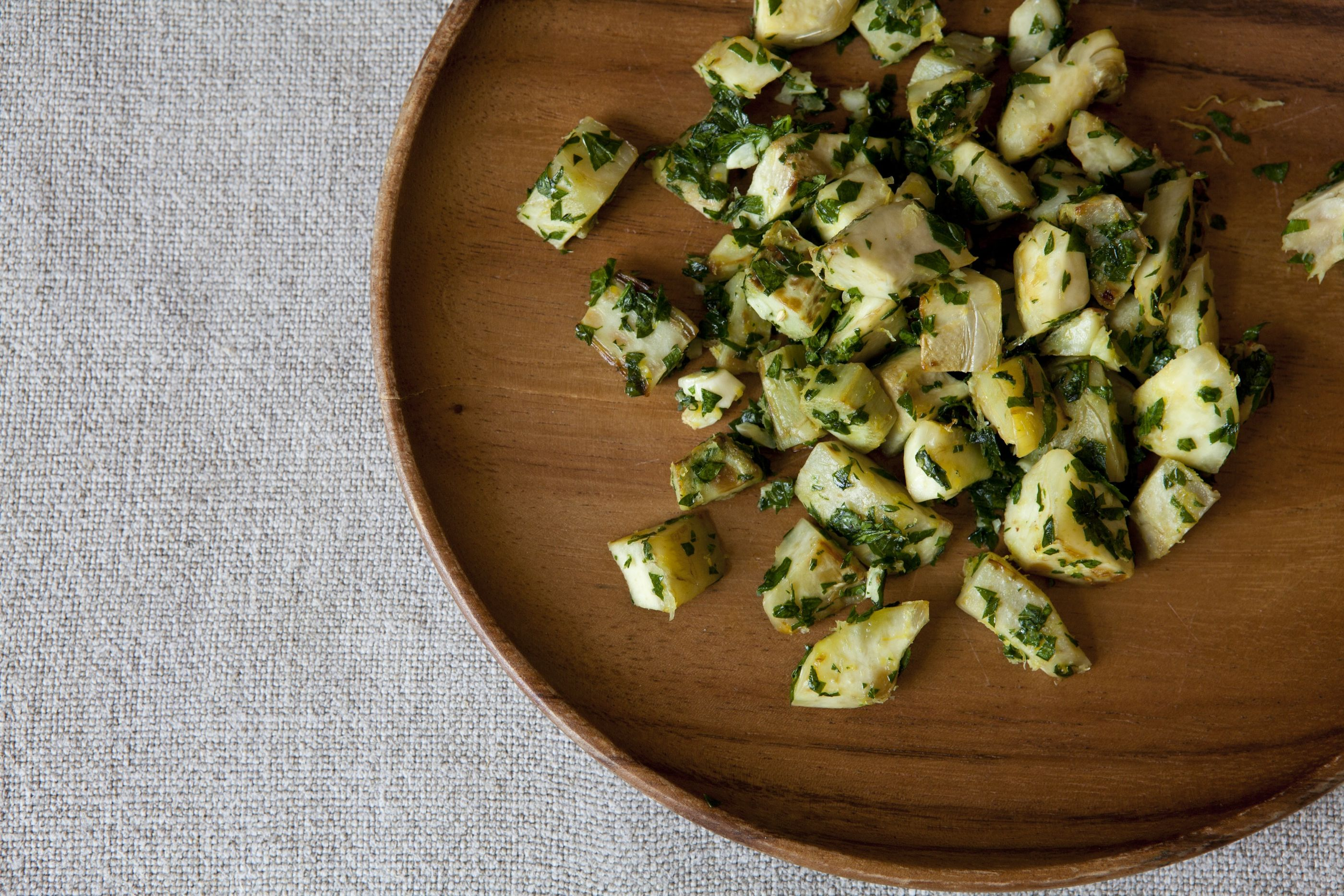 Artichokes with Pesto on Food52